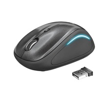 TRUST myš Yvi FX Wireless Mouse - black