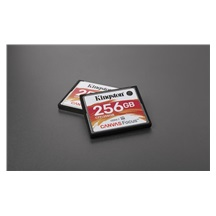Kingston 256GB CompactFlash Canvas Focus up to 150R/130W