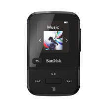 SanDisk Clip Sport Go MP3 Player 32 GB, Black