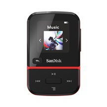 SanDisk Clip Sport Go MP3 Player 32 GB, Red