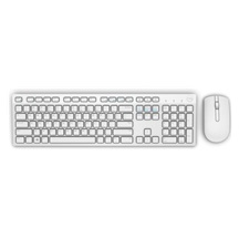 Dell Wireless Keyboard and Mouse-KM636 - US International (QWERTY) - White