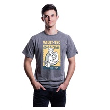 Tričko FALLOUT HARD WORK T-SHIRT L