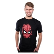 Tričko MARVEL COMICS SPIDERMAN MASK T-SHIRT L