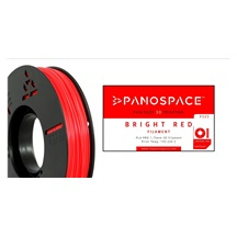 FILAMENT Panospace type: PLA -- 1,75mm, 750 gram per roll - Červená