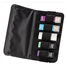 Hama ready for Business USB Stick Case for 5 USB Sticks, black
