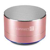CONNECT IT Bluetooth reproduktor BOOM BOX BS500RG, rose gold